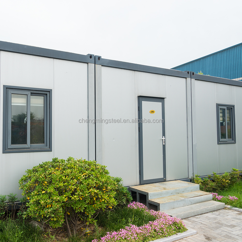 Ready Made Affordable Multipurpose Flatpack Container House Villa
