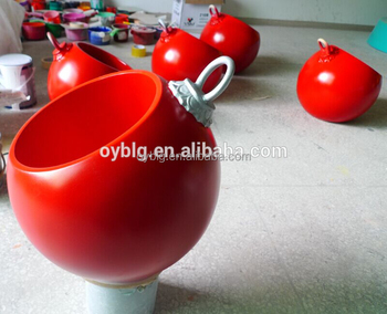 big size fiberglass christmas ornament ball for sale - Fiberglass Christmas Decorations