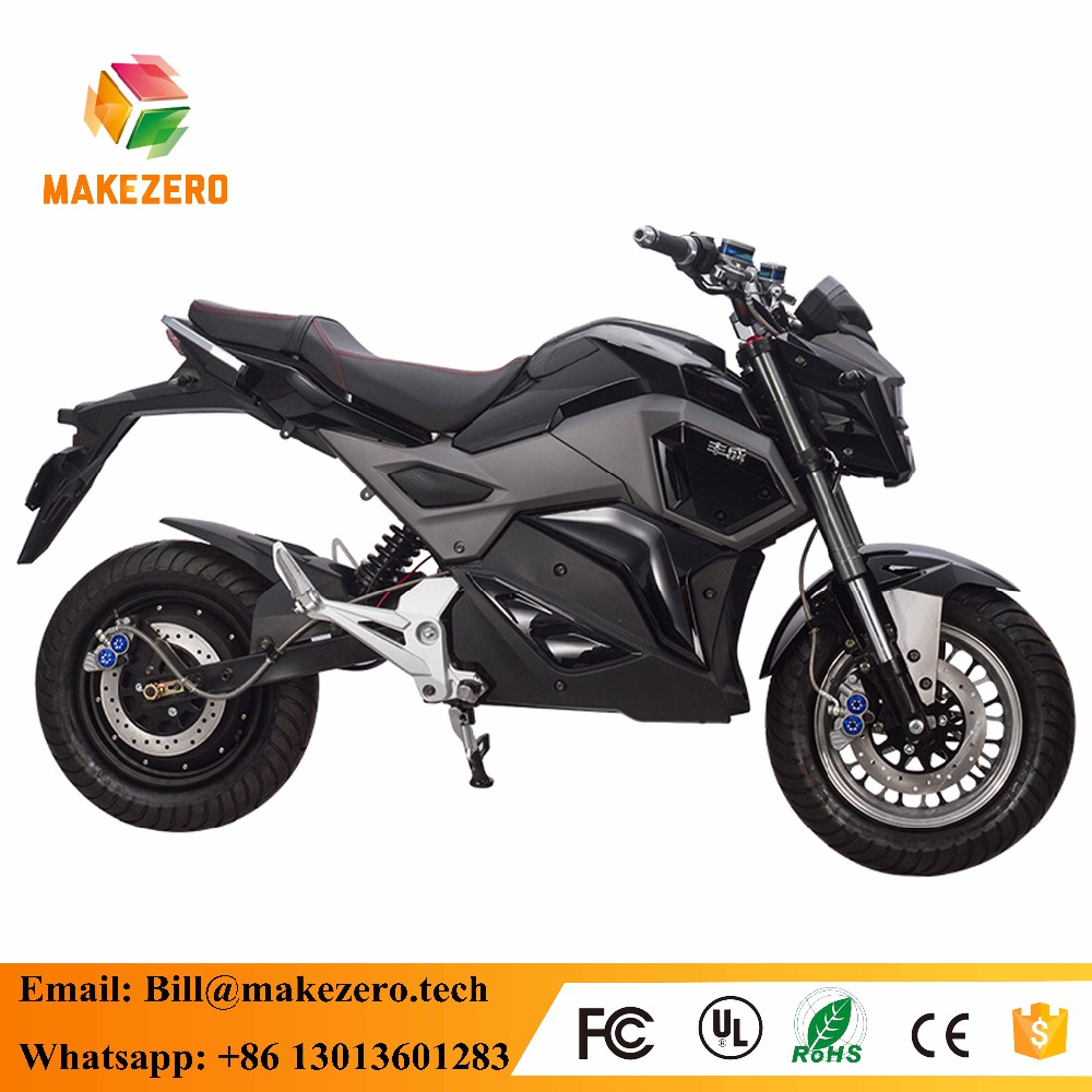 China cheap cool 2000w EEC long range cruiser electric motorcycle scooter for adult