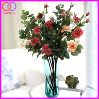 4 colors available cheap wholesale artificial wedding flowers for centerpiece