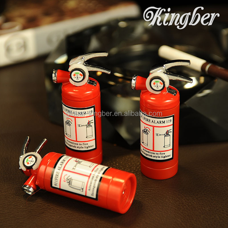 Fire Extinguisher Creative Shape Lighter for Man <strong>Gift</strong>