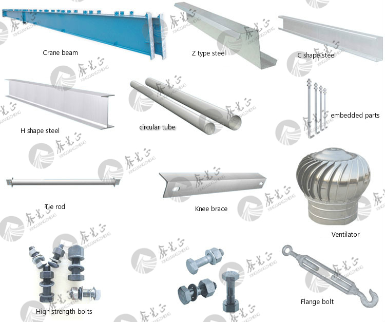 XGZ steel structure materials for Steel column/steel beam