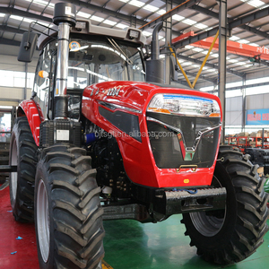 Universal 100HP~220HP Cheap Price Farm AC Cabin Tractor With Mulcher For  Sale