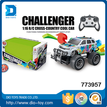 monster truck toy rc container truck