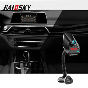 New products user manual dual usb charger car mp3 player with fm transmitter