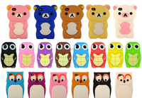 Cute animal style microinjection rapid prototyping silicone case, prototype silicone mobilephone case