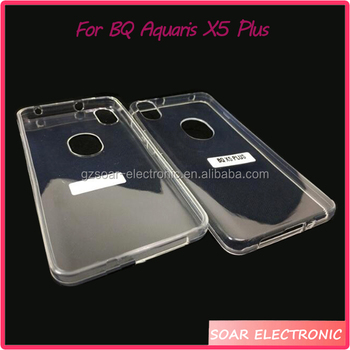 Transparent Clear Cover Cases For Bq Aquaris X5 Plus Ultra Thin Tpu For Bq  X5 Plus Case - Buy Ultra Thin Tpu For Bq X5 Plus Case,Clear Cover Cases For