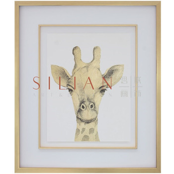 chinese supplier luxury home decor animal painting