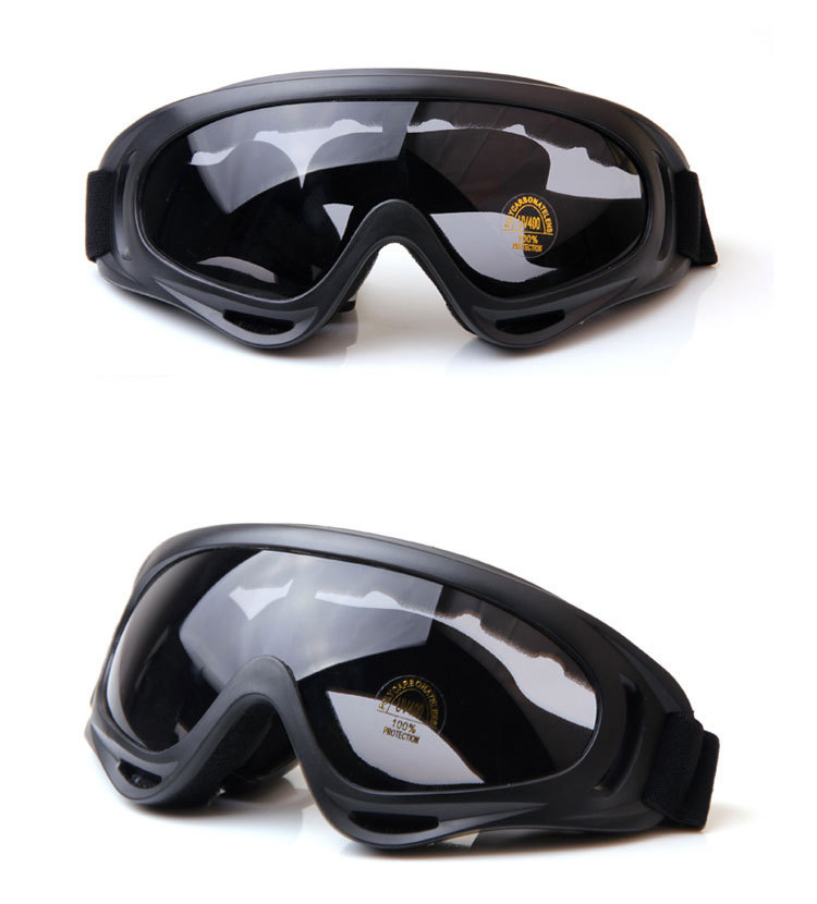 Outdoor sport X400 Anti-UV ,anti-fog eyewear goggles motorcycle ski goggles safety riding ski sports goggles