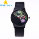 WJ-6995 New design noctilucent women watches flowers quartz handwatches succulent plants leather wrist watches