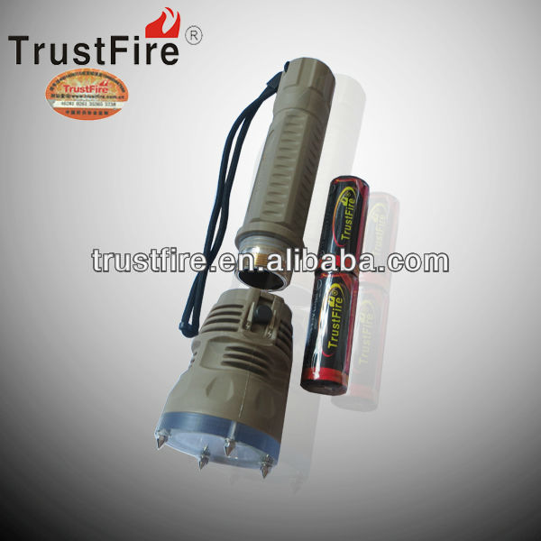 2013 TrustFire diving flashlight DF002 xml2 led diving torch 1300lumen 26650 bright light torch