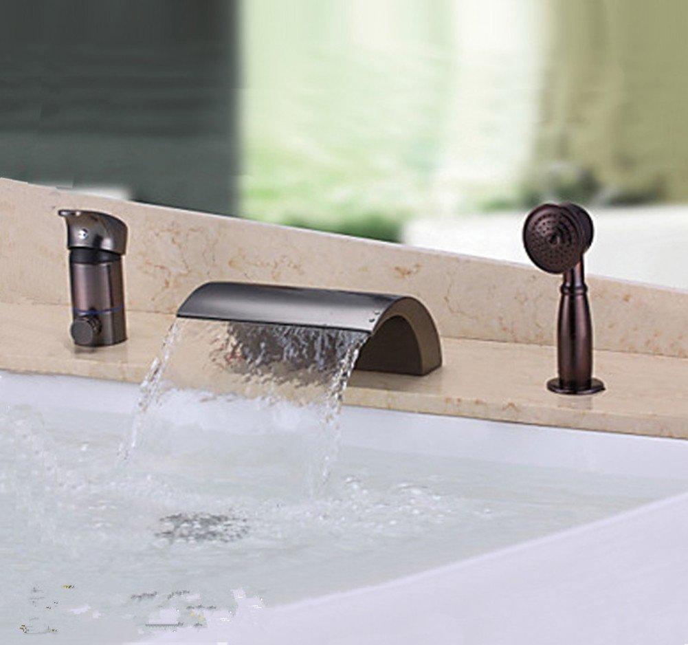 vintage bathtub faucet/European-style shower shower/bath five-hole faucet-A