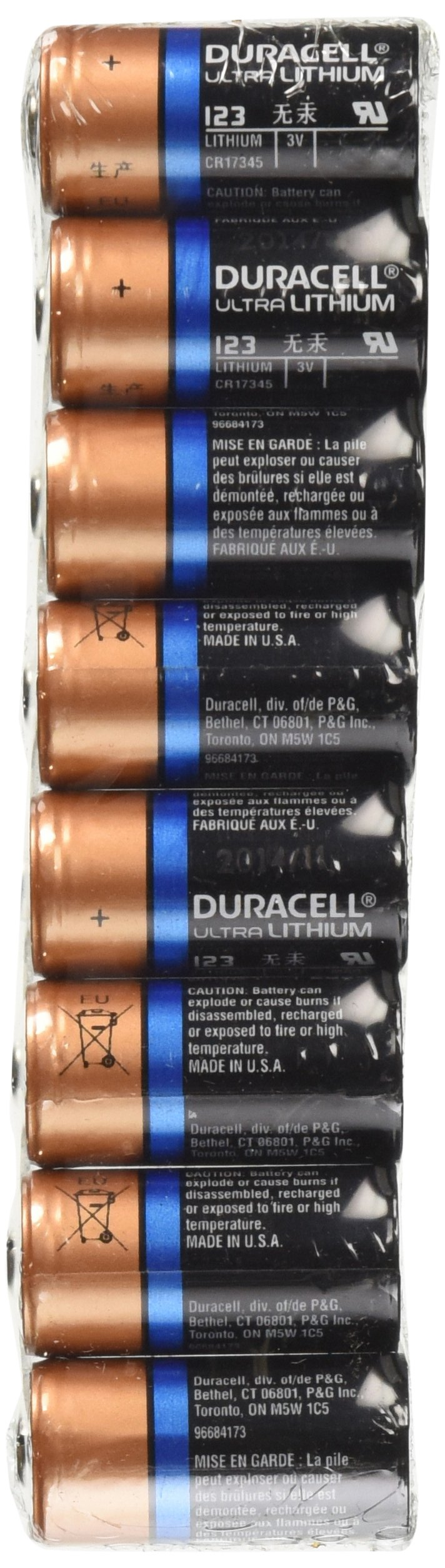 Buy Duracell Ultra Dl123a Lithium Cr123a 3v Photo Lithium Batteries