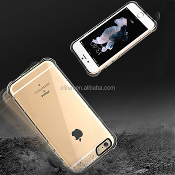 DFIFAN Clear Case for apple iphone 6s ,anti shock airbags design mobile shell cell phone case for iphone 6