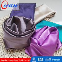 High Quality Polyester Stretch Dull Satin Wedding Dress Fabric