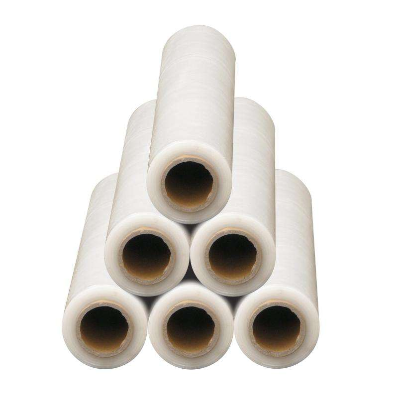 STRONG ROLLS CLEAR PALLET STRETCH SHRINK WRAP PARCEL PACKING CLING FILM STICKY