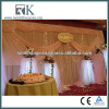 Elegant Wall Backdrop Sheer Drapery For Wedding