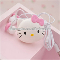 OEM personalized anime earphone for music player