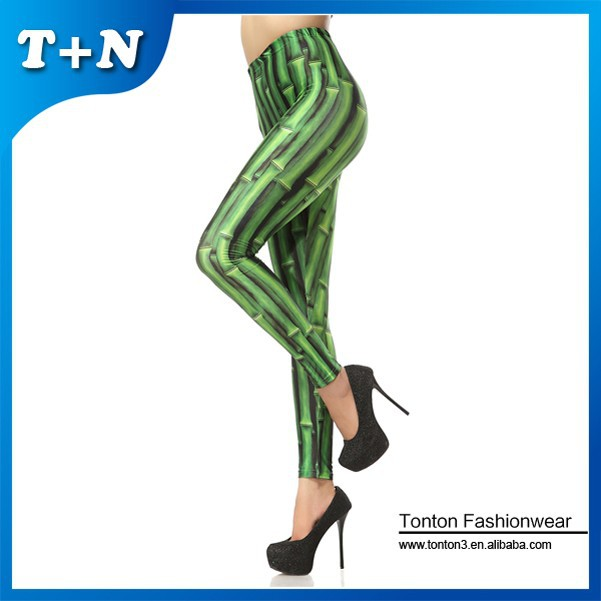 Slim Fit Leggings aus 92% Polyester 8% Spandex