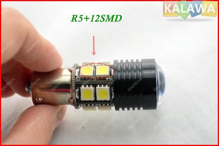 2 шт. 6000 К ~ 6500 К обновление супер яркий Canbus кри R5 из светодиодов резервный свет 1156 S25 ( P21W ) 360 освещение автомобильные фары бесплатная доставка JJJ