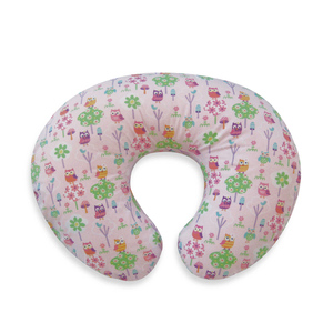 SZPLH Bamboo fiber baby feeding pillow with owl pattern printing