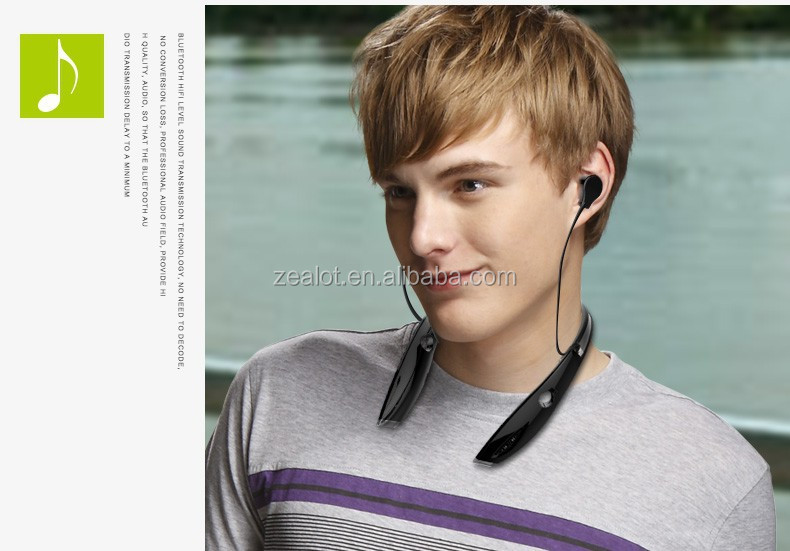 cfbaccf0e75 Zealot H1 Unique Design With Patent Wireless Earplug Headphones ...