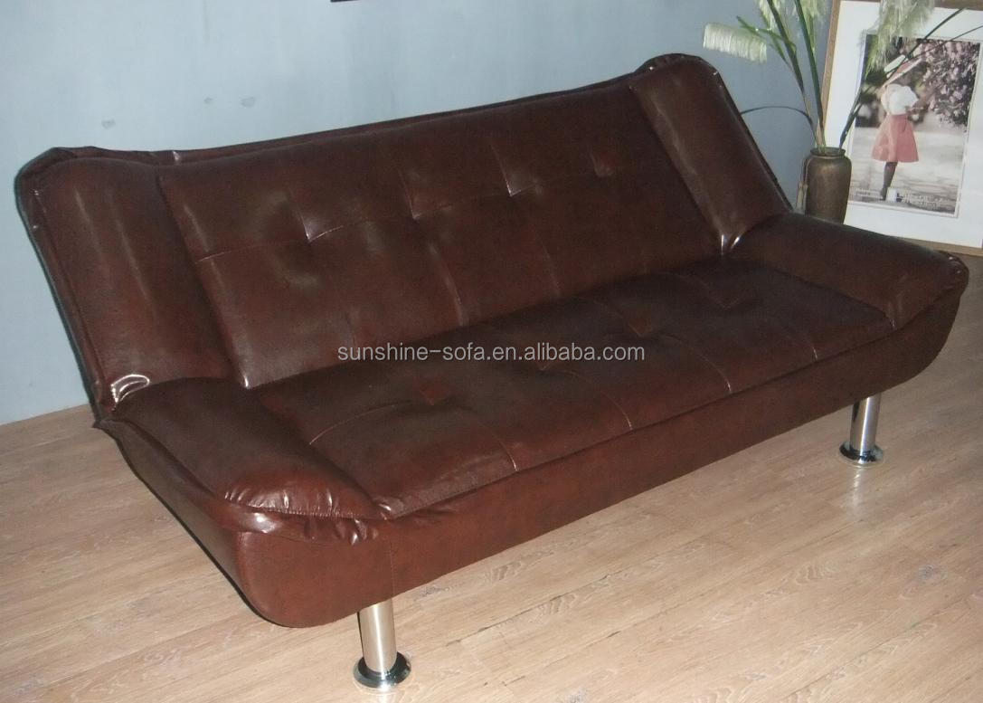 Leather Cheap Euro Style Folding Sofa Bed For Home
