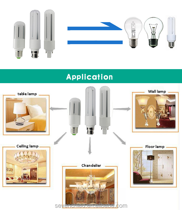 360degree Led Downlight Plug-in 2 Pin Light Bulb Replacement 26w ...
