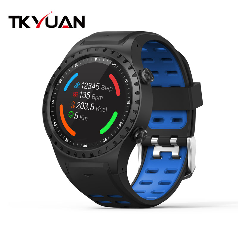 Hot Sales GPS Sport Smart Watch Supports Gsm Card Mtk2503 Support Dynamic Heart Rate SmartWatch