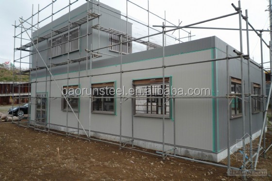 Latvia prefabricated steel structure warehouse