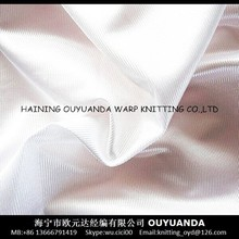 100% polyester warp knitting tricot dazzle plain cloth