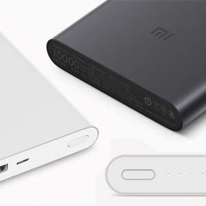 Ultraslim Xiaomi Mi Power Bank10000mAh 2 Quick Charge Power Source Portable Fast Charging For Mobile Phones Pads Tablets