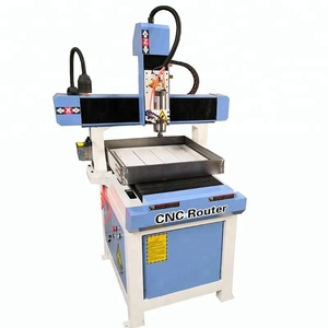 Chinese mini small metal carver 6060 cnc router