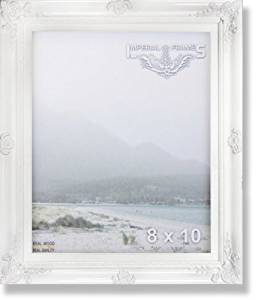 MyFrameStore No.635 Solid Wood Picture Photo/Diploma/Poster Frame, 16 by 20-Inch, White