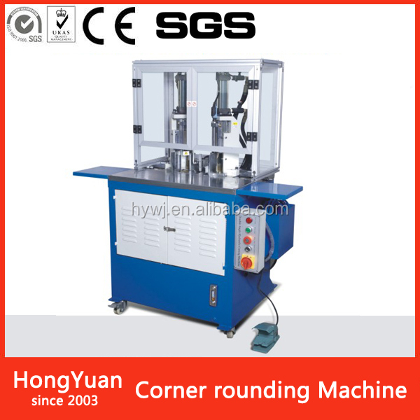 CRM-80 double -head round corner Paper Processing Machinery round corner die-cutting machine