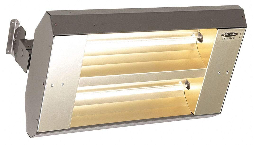Electric Infrared Heater, Indoor, Outdoor, Ceiling/Suspended, Voltage 480, Watts 3200