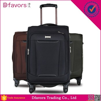 New Design Trolley Soft Case Branded Luggages New 600d Travel ...