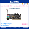 4 channel PCI internal sound card/audio adapter with driver
