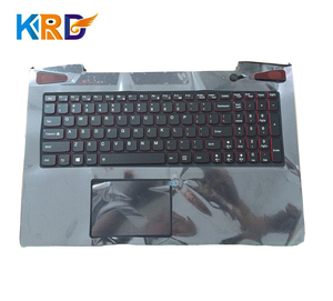 New backlit keyboard for Lenovo Y50 Y50-70 Y50-80 laptop C cover palmrest with touchpad