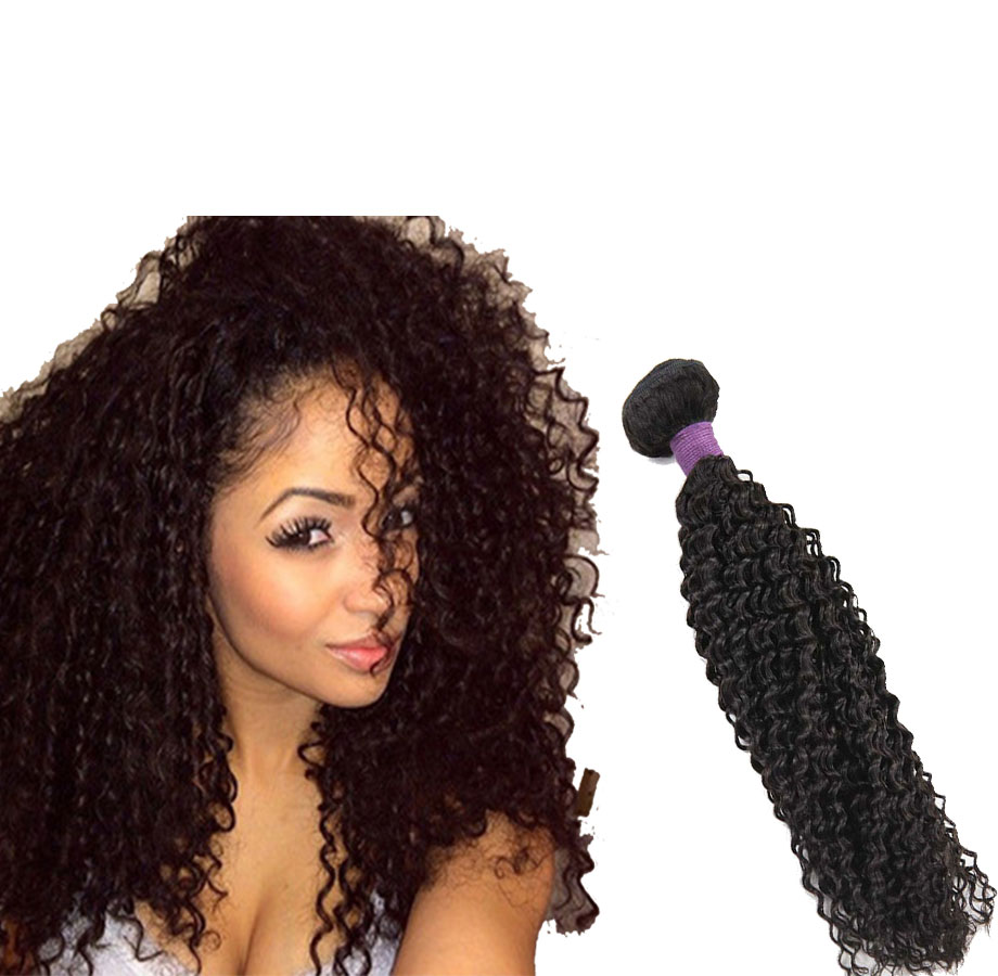 Latest Hair Weaves In Kenya 4c Afro Kinky Human Hair Extensions