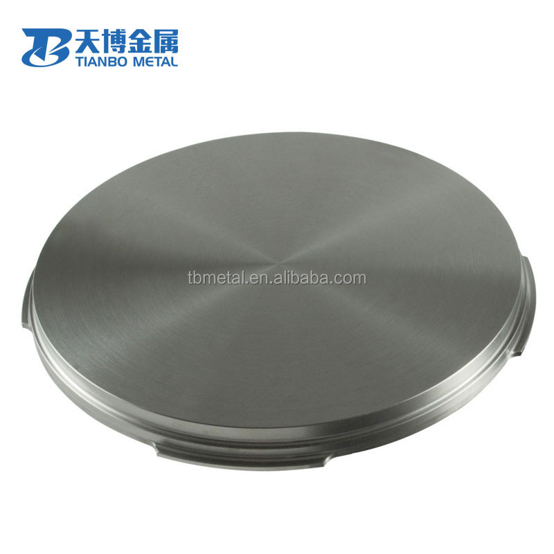 vacuum coating high quality molybdenum alloy sputtering target for sale
