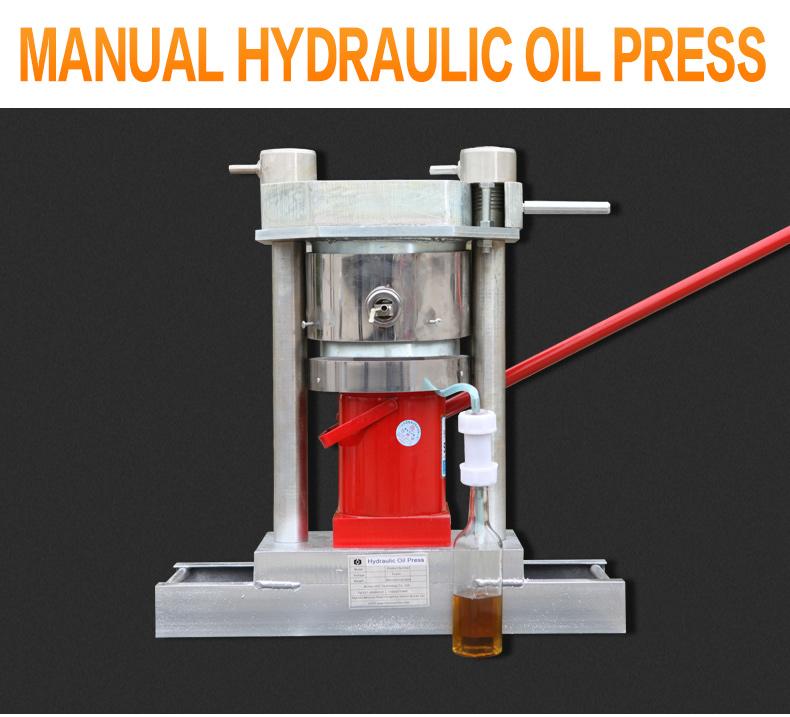 Home sử dụng mini thủy lực bằng tay ép dầu, của nhãn hiệu khai thác dầu máy, óc chó hạt nhân dầu ép