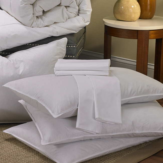Wholesale Luxury Novelty White Small Size Polyester Cotton pillow cover set