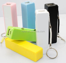 2016 Big Promotions Perfume 2600mAh Power Bank with Key Chain Mobile Charger 2600mAh, Portable Power Bank 2600mAh with CE/RHOS