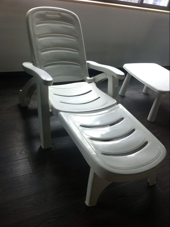 Promotional Low Plastic Beach Chair