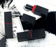 IBELONG 4g black red square empty lipstick tube container for lipgloss DIY