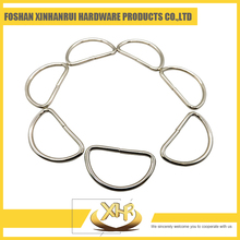 Brand new metal round d ring snap for bags