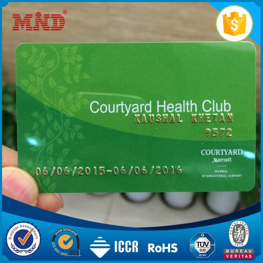Mdbc1000 High Quality Customized Printing Pvc Cheap