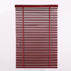 Various colors of bamboo venetian blinds