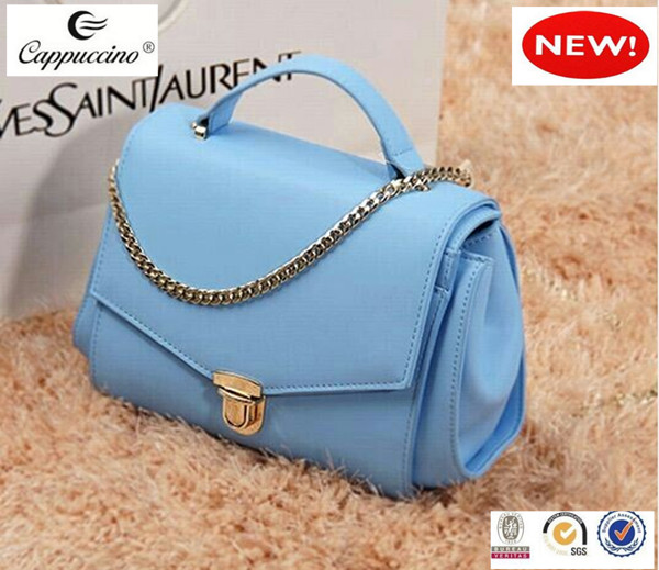 Fashion Latest Design Leather Las Handbags 2018